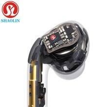 SHAOLIN-auriculares inalámbricos para apple pods, cascos con Bluetooth y cabezal para teléfono móvil Apple, Mac Watch, Samsung y Xiaomi