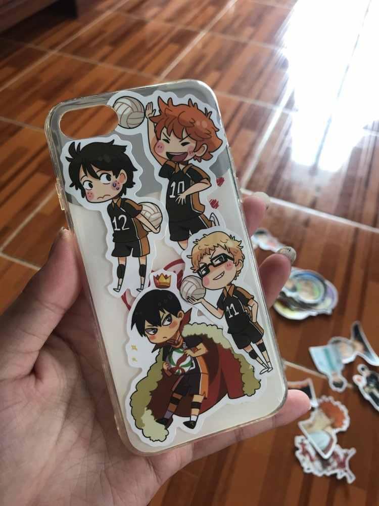 Willekeurige 50 Stks/set Japan Anime Cartoon Rekwisieten Haikyuu! Hinata Shoyo Kageyama Tobio Sticker