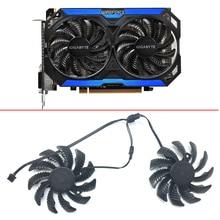78MM T128010SM 3PIN GTX960 FAN PC Cooling Fan GV-N960OC For Gigabyte GTX 960 fan Graphics Video Card Cooler PLD08010S12H