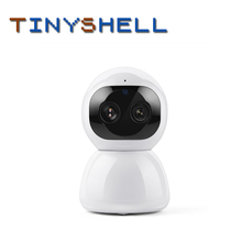 Cloud Camera 1080P 2MP Dual-Lens Wireless IP Camera Wifi Auto Tracking Indoor Home Security Surveillance CCTV Network Camera