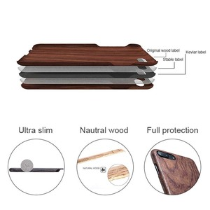 Image 5 - For Apple iPhone 6 6s Plus /7 /8 Plus SE2 2020 walnut Enony Real Wood Rosewood Wenge Apricot MAHOGANY Wooden Back Case Cover