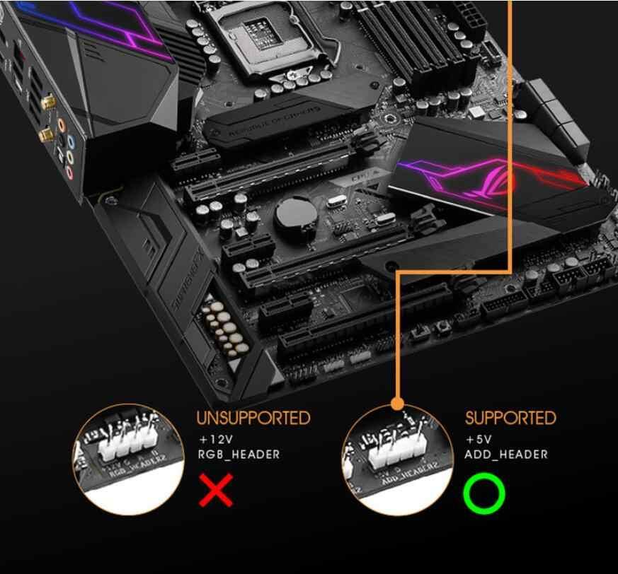 Aigo Darkflash CF8 Computer Pc Case Rgb Fan Clear Frame 120Mm Fans Rustig + Remote Computer Cooling Aura Sync cpu Koeler Rgb Case F