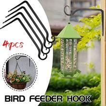 Flowerpot Hanging-Plant Bird-Food Hanger Metal for Home-Garden-Decoration with Screw