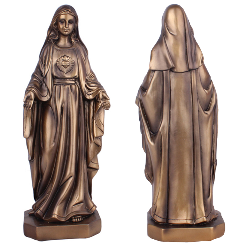 루르드의 우리 레이디 세인트 성모 마리아 마돈나 동상 그림 예수 그리스도 탁상 동상 입상-에서신성한 조각상부터 홈 & 가든 의