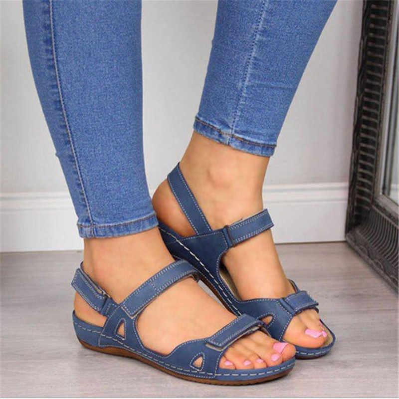 2020 ใหม่ผู้หญิงรองเท้าแตะสุภาพสตรีรองเท้าแตะสบายรองเท้าแตะเปิดรองเท้าผู้หญิงรองเท้า Sandalias Mujer