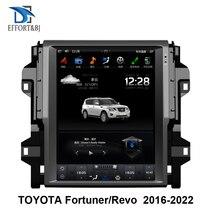 טסלה סגנון אנכי אנדרואיד 9.0 רכב GPS Nagavition עבור טויוטה Fortuner/HILUX Revo 2016 2022 שנה אוטומטי או ידני/C רכב רדיו