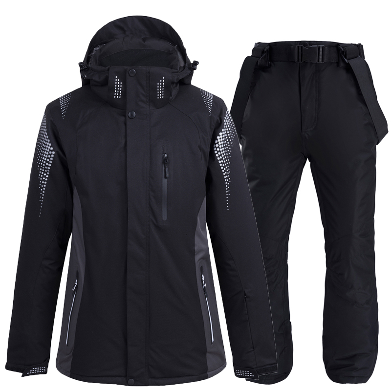 Couples Skiing Jackets And Pants Men And Women Ski Suit Snowboarding Sets Warm Windproof Waterproof Snow Outdoor Winter Clothes