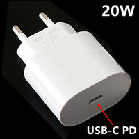 PD 20W USB Typ C Ladegerät EU Adapter Schnelle Lade Telefon Gebühr Für iPhone 12 11 X Xs Xr 7 AirPods iPad Huawei Xiaomi LG Samsung