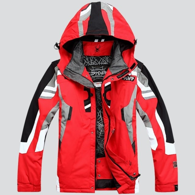 Super Warm Top Outdoor Snowboard Ski Jacket Men Winter Hooded Warm Parkas Waterproof Snow Jacket For Hiking Camping Skiing