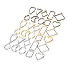 10 шт Рамка УФ эпоксидная смола форма металлическая геометрическая