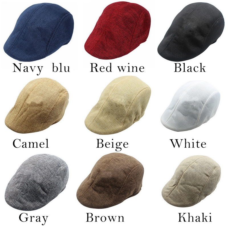 Mens Womens Duckbill Cap Mens Knitted Wool Newsboy Hat Winter Warm Beret Homme Gentleman Casual Unisex Beret Homme