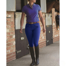 2021 New Horse Riding Pants Clothes for Women Trousers Female Elastic Equestrian Breeches Horse Rider Pants Equipments Breeches
