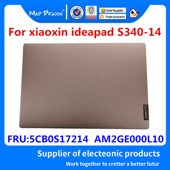 Laptop NEW original LCD Rear Lid Back LCD Top Cover Golden A shell For Lenovo xiaoxin 14 air S340 -14  5CB0S17214  AM2GE000L10