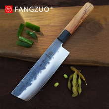 NEW 2020 Japanese Kitchen Knives Handmade Kiritsuke Knife Chef Cooking Tools Wood Handle High Quality Eco Friendly Products