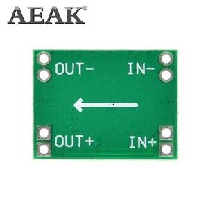 Image 3 - AEAK 100 pièces Ultra petite taille DC DC abaisseur Module dalimentation 3A réglable Buck convertisseur pour Arduino remplacer LM2596