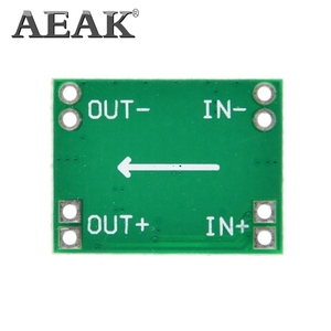 Image 3 - AEAK 100PCS Ultra Small Size DC DC Step Down Power Supply Module 3A Adjustable Buck Converter for Arduino Replace LM2596