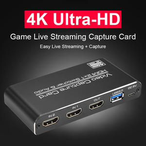 Video-Capture-Card Record Broadcast Live-Streaming HDMI To 1080P 4K USB Usb-2.0 Board-Game