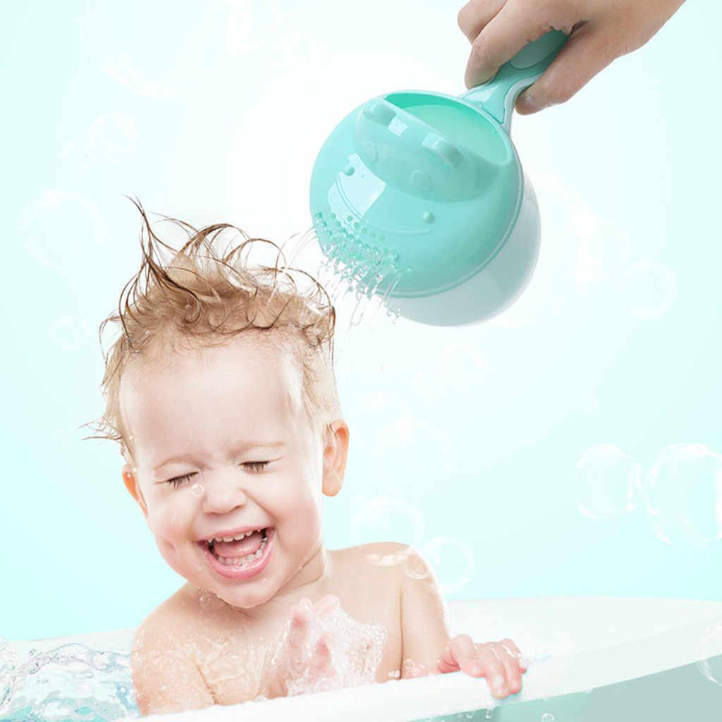 2019 ベビーバス滝リンサ子供シャンプーすすぎカップ風呂洗浄ヘッドベビーシャワースプーン子洗髪カップ子供
