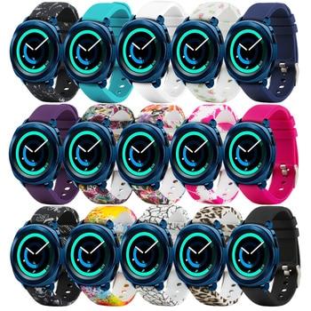20mm Watch Strap for Galaxy Watch 42mm/Samsung Gear 2 Classic/Huawei Watch 2 Watch/Garmin Vivoactive 3/Forerunner 645 Silicone W 20mm silicone watch band strap for garmin forerunner 645