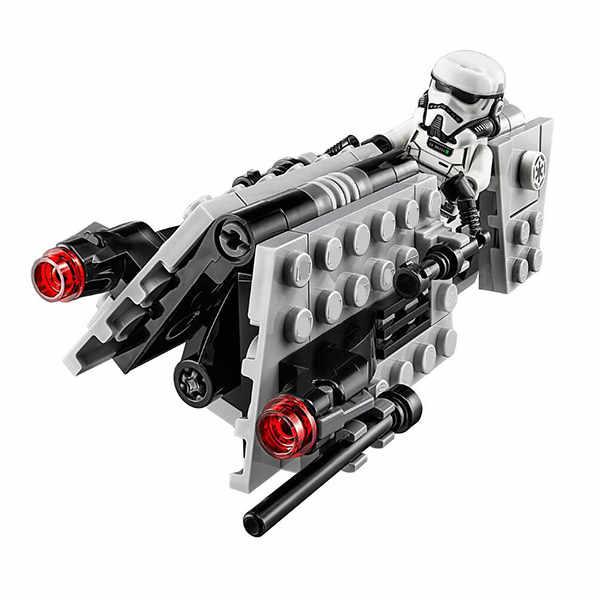 10909 Бэйл Звездные войны, имперский патруль, набор сотрудников, модель, строительные блоки, Обучающие фигурки, игрушки для детей, рождественский подарок