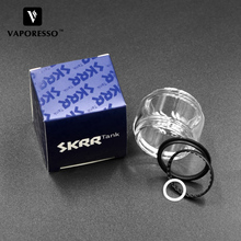 Original Vaporesso SKRR Vape Tank Glass Tube with O ring 8ml Replacement Pyrex for LUXE S Kit