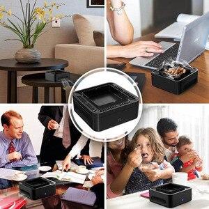 Cenicero sin humo recargable por USB, purificador de filtro de aire de segunda mano para el hogar, la Oficina y el coche GQ