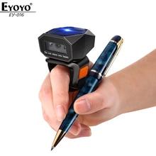 Scanner Portable Code-Reader Ring-Barcode iPad Eyoyo 1D Bluetooth 2D Wireless USB