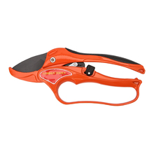 Red Garden Tool Pruning Shear Scissors Fruit Ratchet Secateurs Cutting Branch Cutter недорого