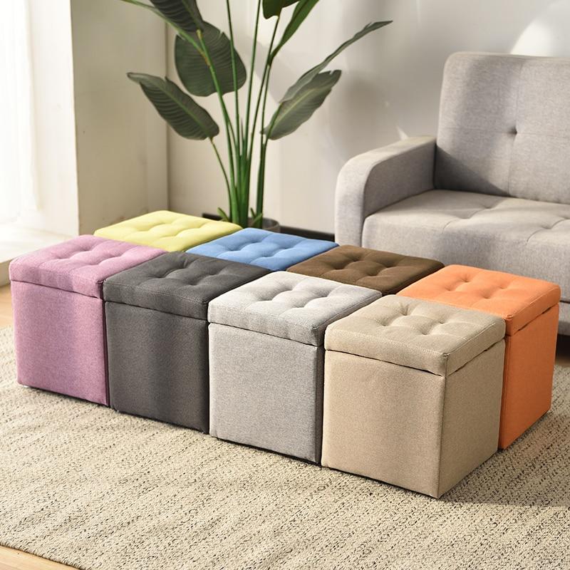 Pick Up The Stool Adult Sofa Square Chair Artifact Box Furniture Storage Bench  Kids Furniture Squatty Potty Vanity Saddle Stool