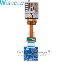 Wisecoco 3.4 inch 651 PPI LPM034M131A 1440×1700 IPS LCD screen 60 pins with MIPI HDMI USB driver board for Handheld & PDA