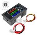 4-Bit DC 0-100V 10A 100 0W Digital Power Meter Voltmeter Amperemeter Wattmeter Detektor Volt AMP Panel Monitor Strom Spannung Tester