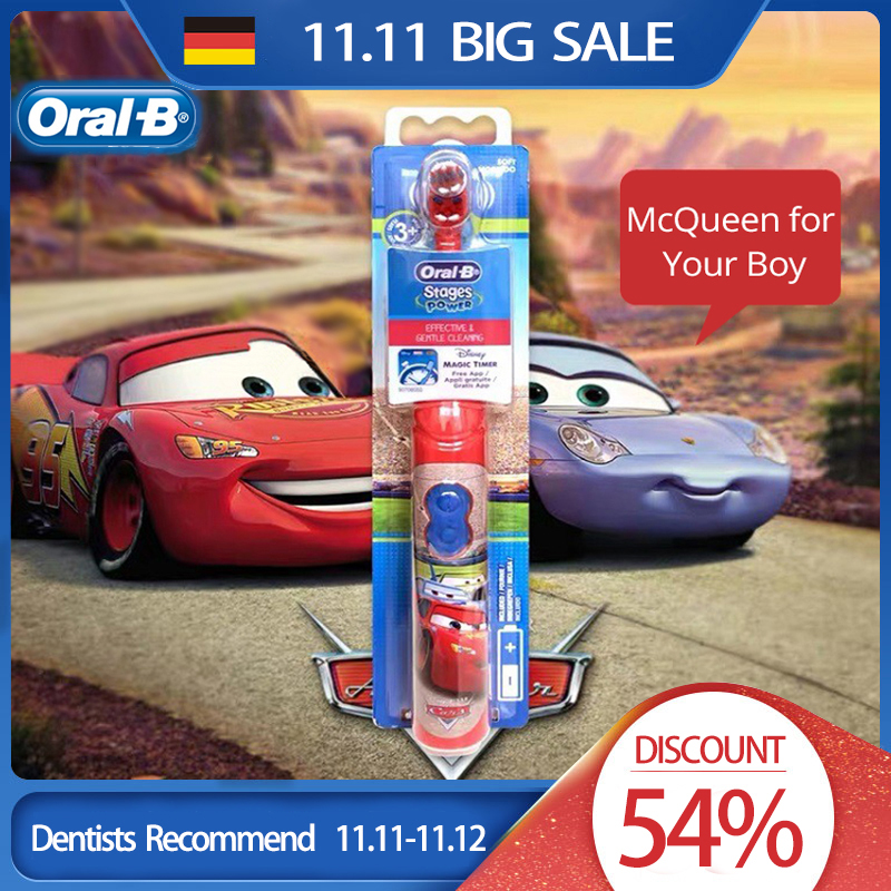 Oral B Kid Electric Toothbrush Soft Bristle Brush Head Small Head For Kid Tooth Brush