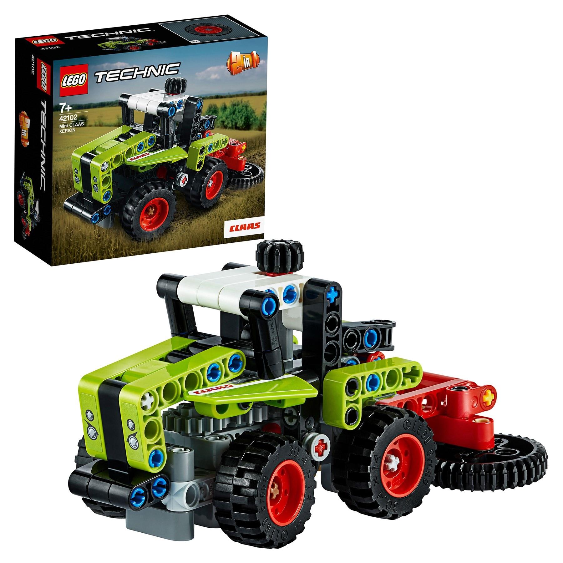 Designer Lego Technic 42102 Mini Claas Xerion