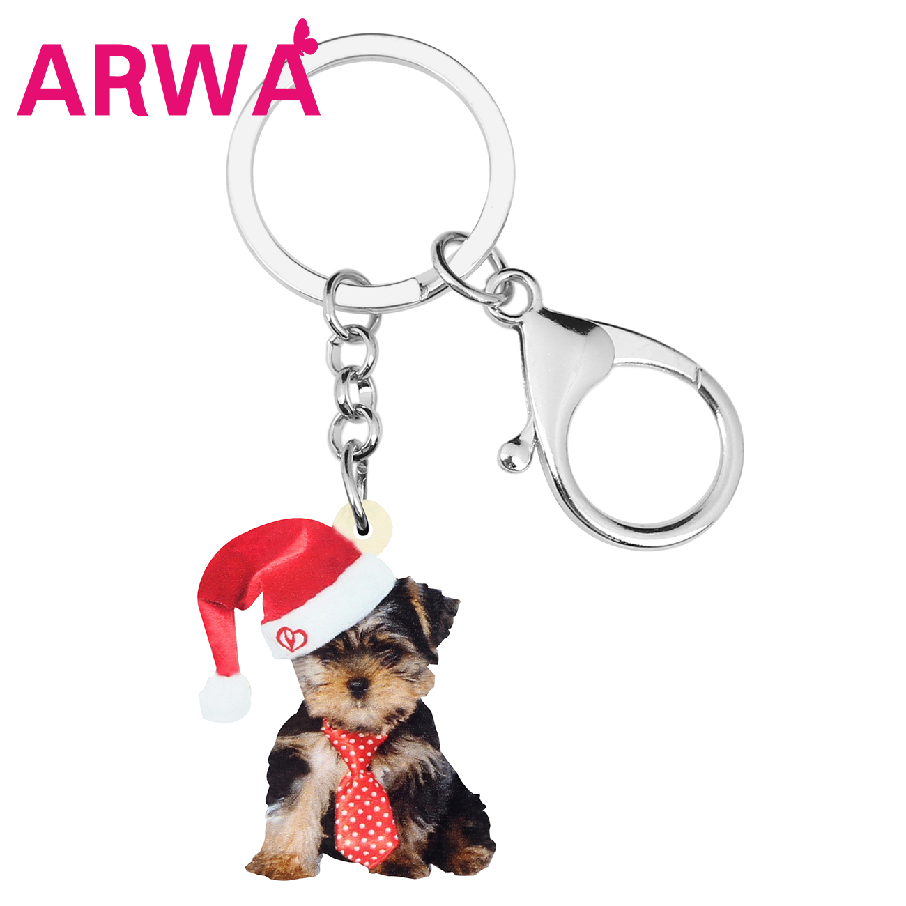 BOXER Dog Key Ring Keychain Key Chain NEW Great gift Animal Pet I love my