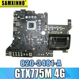 Оригинальная материнская плата для Apple iMac 27 ''A1419 Late 2013, логическая плата i5 3,4 ГГц 2 Гб GTX 775M 820-3481-A