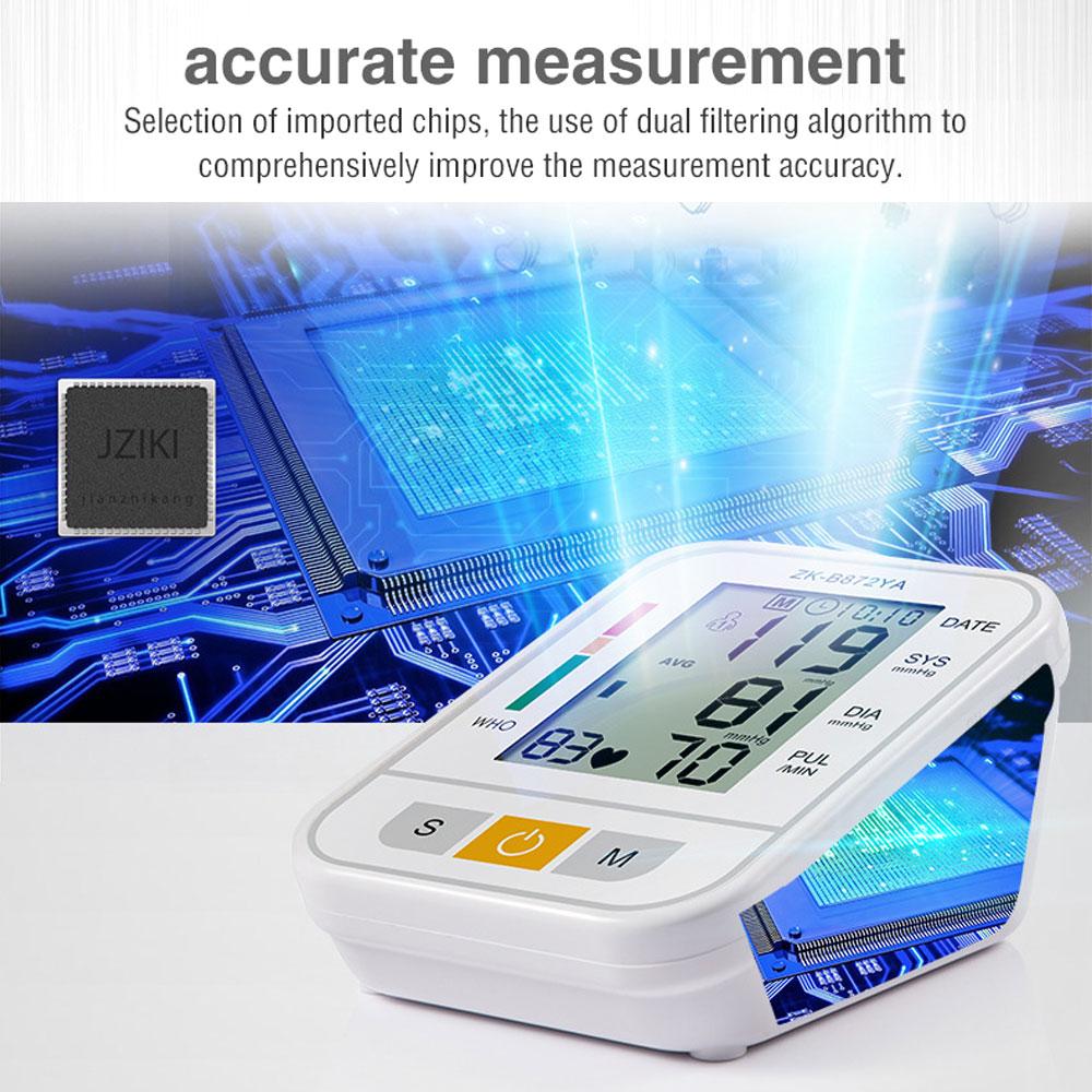 Elektrische Blutdruck Monitor Tonometer Medizinische Ausrüstung Arm Gerät für Mess Druck Herz Schlagen Meter Maschine