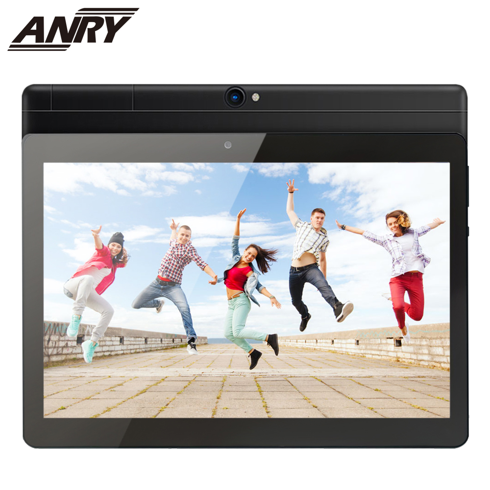ANRY Octa Core Tablet 10 Inch MTK6582 IPS Capacitive Touch Screen Dual Sim 4G Tablet Phone Pc Android 7.0 Wifi GPS Bluetooth