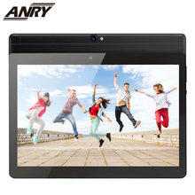 цены ANRY Octa Core Tablet 10 inch MTK6582 IPS Capacitive Touch Screen Dual Sim 4G Tablet Phone Pc Android 7.0 Wifi GPS Bluetooth