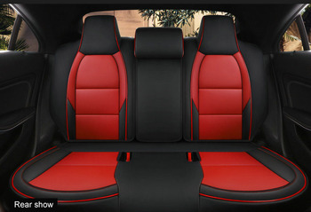 custom only rear seat car seat cover for Mercedes-Benz gla200 gla260 cla200 cla 220 cla260 A 180 A200 auto accessories styling