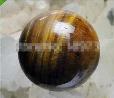 YM 326 الطبيعية النمر العين 50-55 مللي متر الكوارتز كرة كريستال الكرة