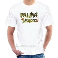 Fashion Men Palma De Mallorca - white Tees shirts top Spain design T-shirt logo brand tee cotton clothes T shirt @126692