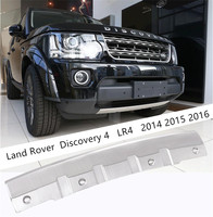 For Land Rover Discovery 4 LR4 2014 2015 2016 Front Bumper Guard Plate Protector Anti impact Stainless Steel Auto Accessories