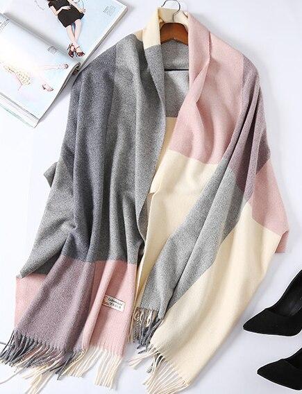 Warm Scarf Scarf Shawl Wool Scarf
