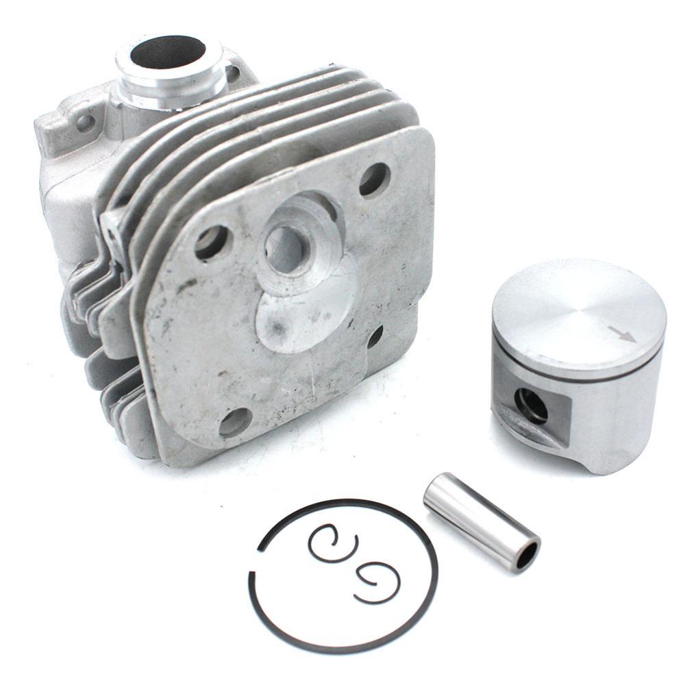 Cylinder Piston 48mm Round Port Husqvarn 3 365 365Special 365EPA  Chainsaw Part Number 50393 90 71