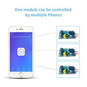 Image 3 - Ewelink mini módulo wifi, timer para interruptor de luz, módulo de controle remoto, funciona com alexa