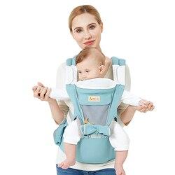 Portabebés de canguro multifunción con capucha, mochila con eslinga, portabebés para bebés, envoltura ajustable, para niños y recién nacidos