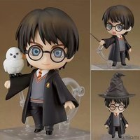10cm Harri potter action Figures Nendoroid #999 FaceSwipe PVC Action Figures Collection Model Toys gifts with box