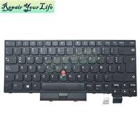 Tastatur Für Lenovo ThinkPad T470 T480 LA latin schwarz Pointer tastaturen 01HX342 SN53601 SN20P41684 ersatz 01AX367 01AX531