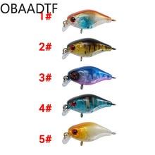 5-color suit rock lure bait bionic bait 4.5cm / 4.2g simulation fake bait warp bass bait hard bait Crankbait lure  fishing bait недорого