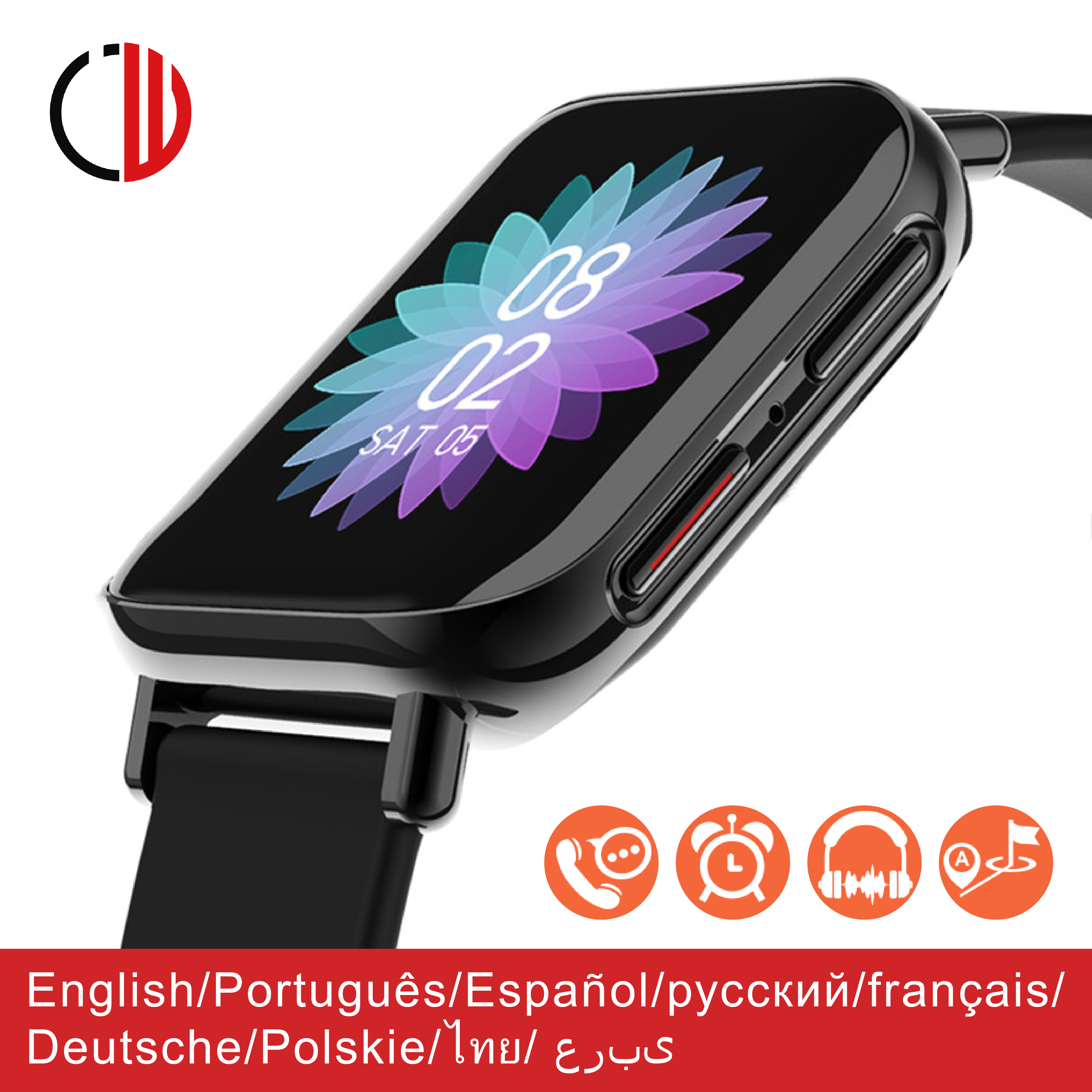 CZJW M96 smart watch man 2020 dail call bluetooth IP67 waterproof sport smartwatch woman Two-way anti-lost reminder Android Ios